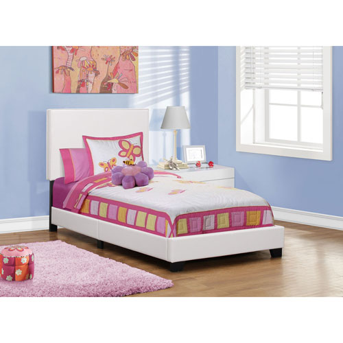 Hawthorne Ave White Twin Size Bed