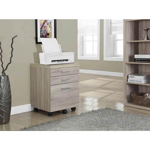 Natural File Cabinet