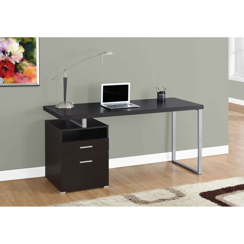 Hawthorne Ave Cappuccino 60-Inch Computer Desk
