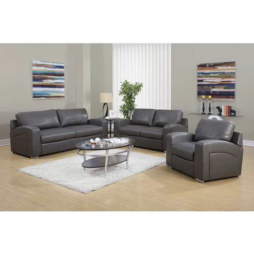 Hawthorne Ave Charcoal Grey Love Seat