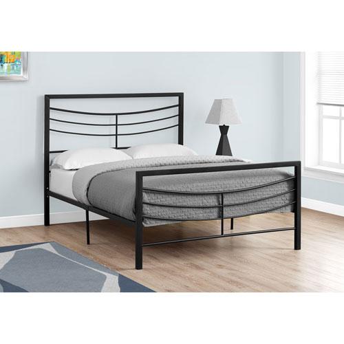 Hawthorne Ave Full Bed Black Metal Frame Only