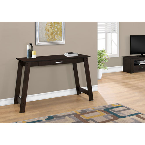 Hawthorne Ave Cappucino 42-Inch Computer Desk with A Storage Drawer