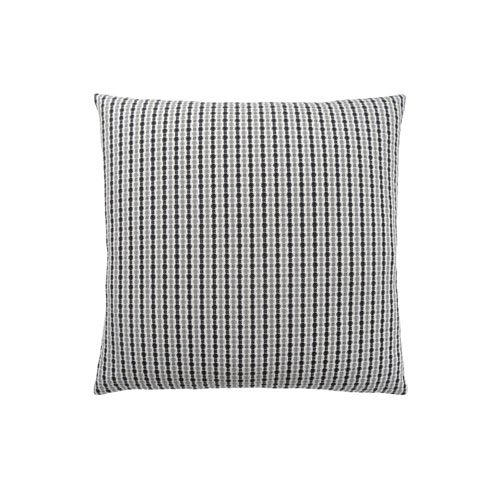 Hawthorne Ave 18-Inch Light Grey and Black Abstract Dot Pillow