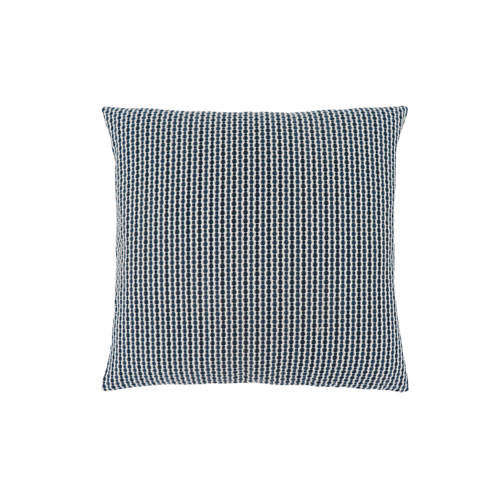 Hawthorne Ave 18-Inch Light and Dark Blue Abstract Dot Pillow