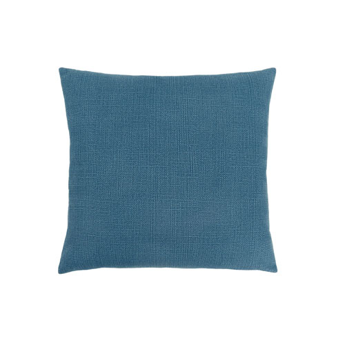 Hawthorne Ave 18-Inch Patterned Blue Pillow
