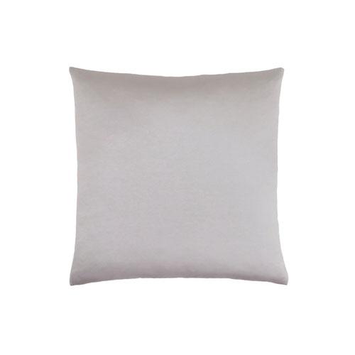18-Inch Silver Satin Pillow