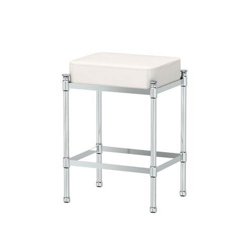 Gatco Chrome Vanity Stool
