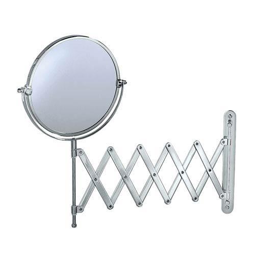 Premier Chrome Accordion Mirror