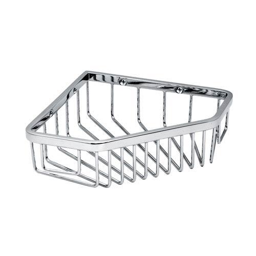 Gatco Chrome Corner Shower Basket 1499 | Bellacor