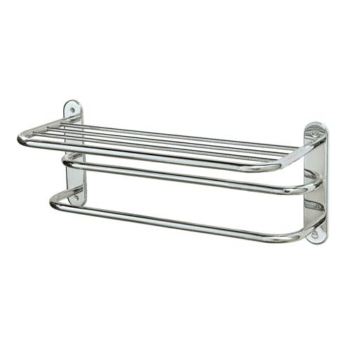 Chrome Spa Rack - Three Tier 26.5 Inches