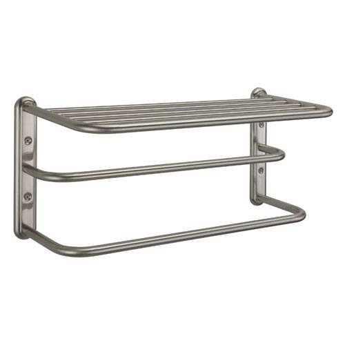 Gatco Satin Nickel Spa Rack - Three Tier 20 Inches