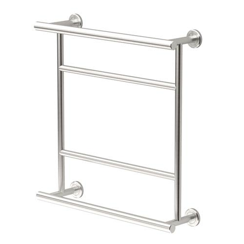 Latitude II Satin Nickel Towel Rack