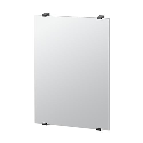 Gatco Bleu 31-Inch Minimalist Rectangle Mirror Matte Black