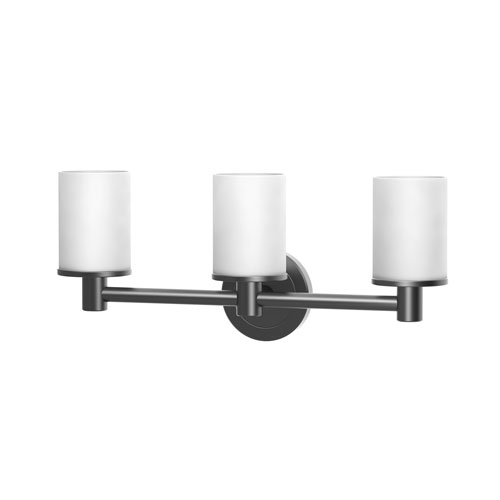Latitude II Triple Sconce Matte Black