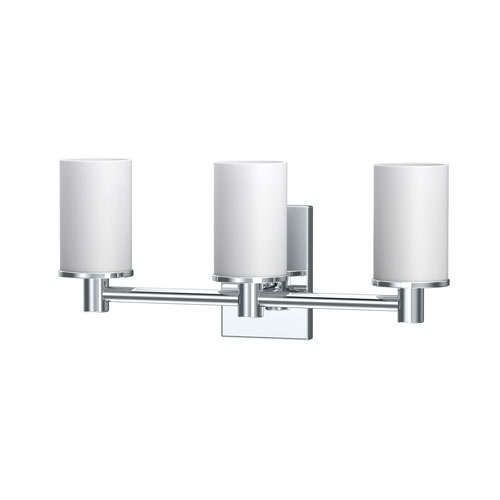 Gatco Modern Farmhouse Triple Sconce in Chrome