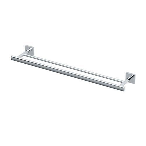 Gatco Elevate Chrome Double Towel Bar