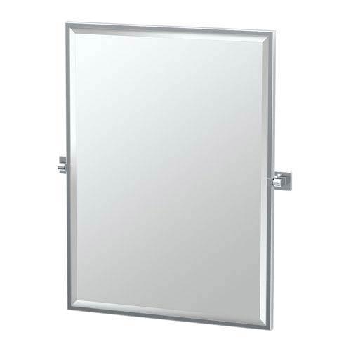 Gatco Elevate Chrome Framed Rectangle Mirror