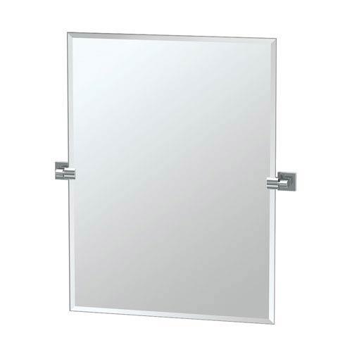 Elevate Chrome Rectangular Mirror
