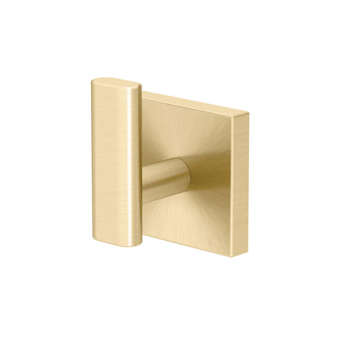 Elevate Robe Hook in Brushed Brass