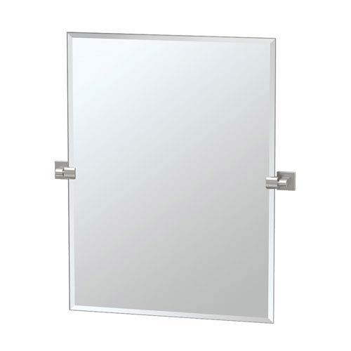 Gatco Elevate Satin Nickel Rectangular Mirror