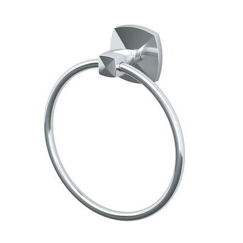 Jewel Chrome Towel Ring