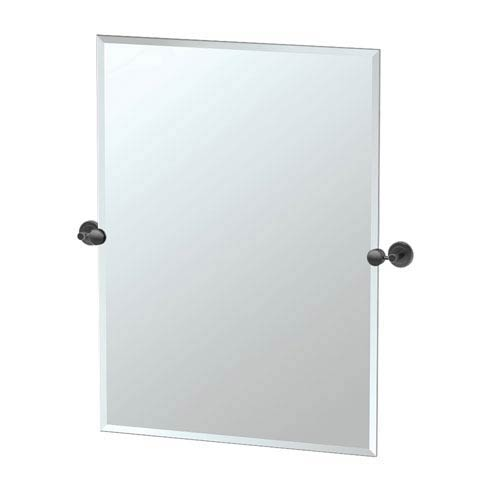 Latitude II Rectangle Mirror Matte Black
