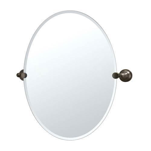 Tiara Bronze Tilting Oval Mirror