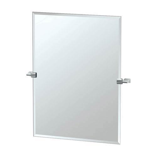 Gatco Bleu Chrome Tilting Rectangular Mirror