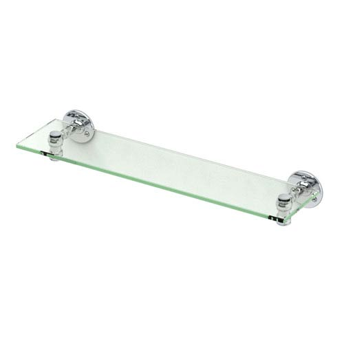 Gatco Café Chrome Glass Shelf
