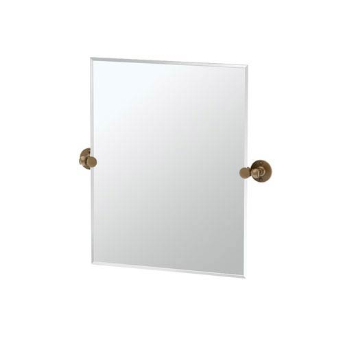 Cafe Bronze Small Rectangle Mirror