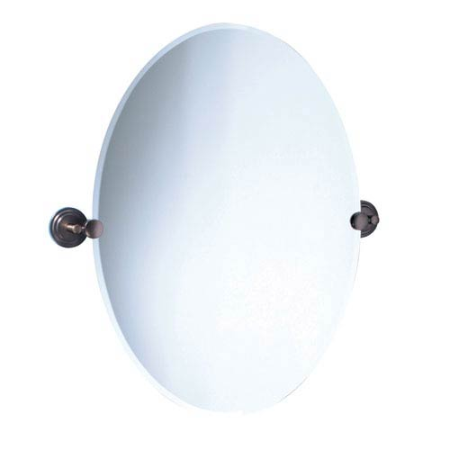 Marina Bronze Tilting Oval Mirror