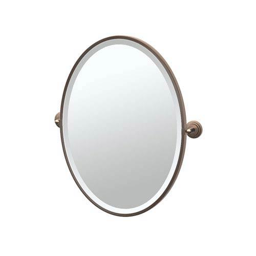 Gatco Marina Bronze Framed Oval Mirror 4920F   Bellacor