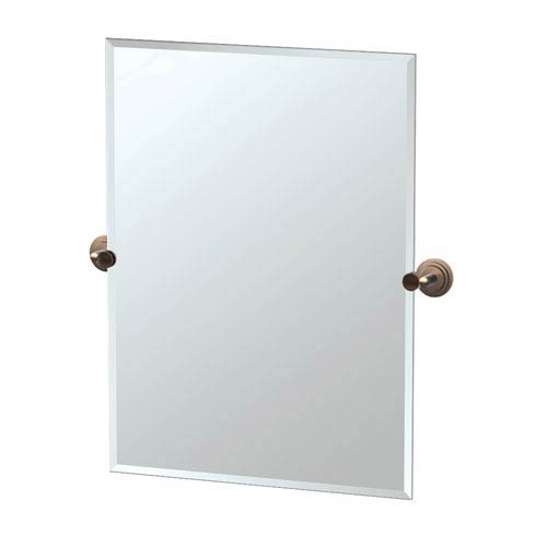 Gatco Marina Bronze Tilting Rectangular Mirror