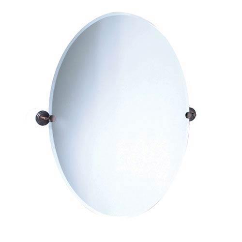 Marina Bronze Large Tilting Oval Mirror