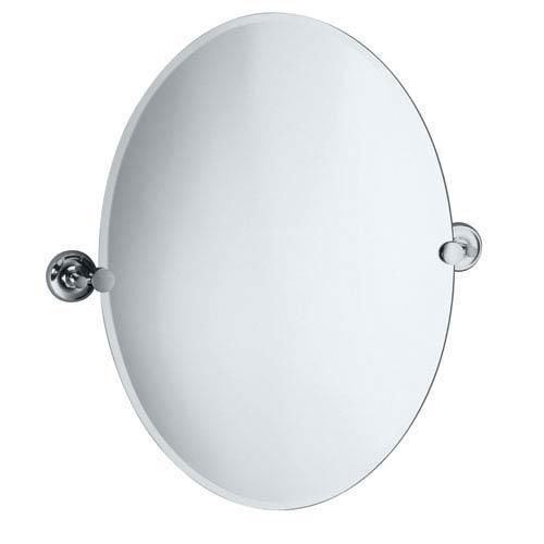 Gatco Designer Ii Chrome Tilting Oval Mirror