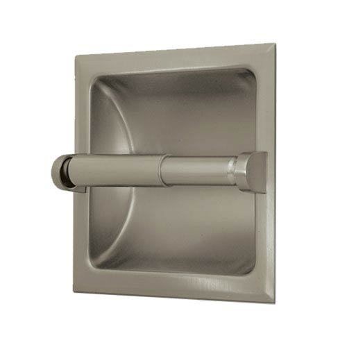 Gatco Recessed Satin Nickel Tissue Holder
