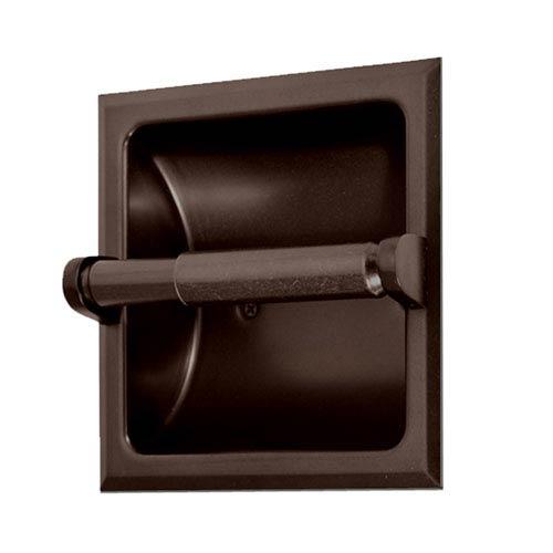 Recessed Bronze Tissue Holder