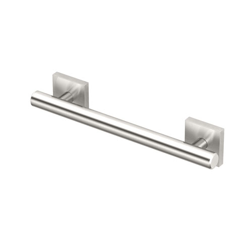 Elevate 12-inch Grab Bar Satin Nickel