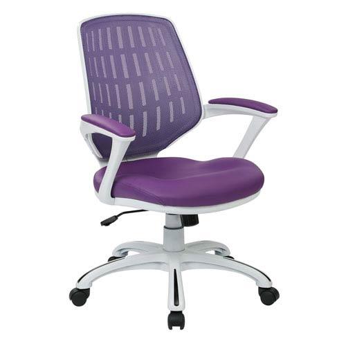 Calvin Purple Office Chair
