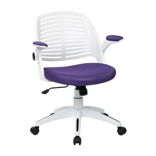 Tyler Purple Office Chair