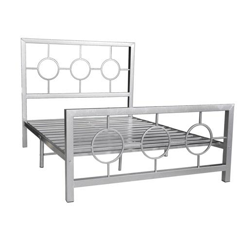 Silver Full Bed