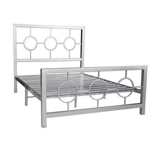Silver Queen Bed