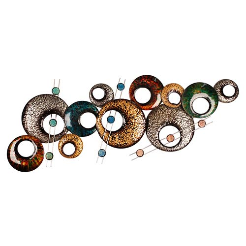 Multicolor Circle Wall Decor