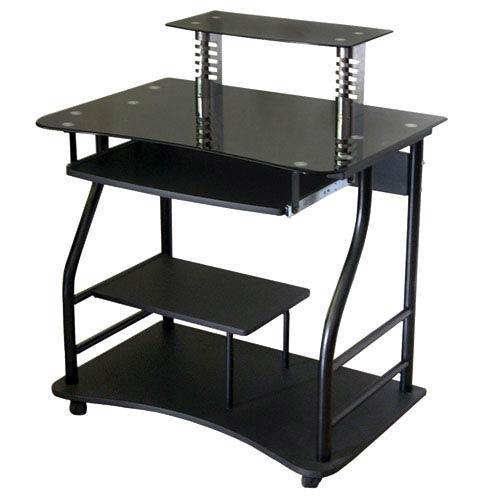 Black Computer Cart