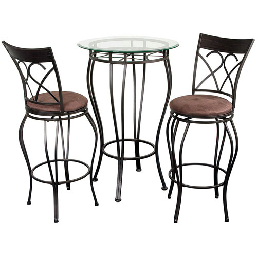 Galaxy Bronze Three Piece Fancy Bistro Set