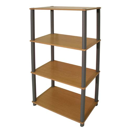 Beech Sturdy Shelving Unit