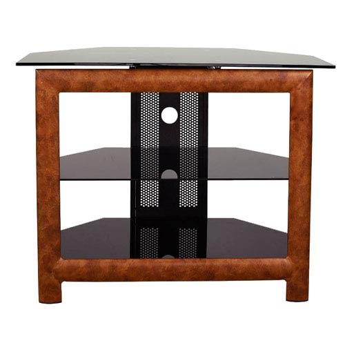 Wood Two-Shelf TV Stand