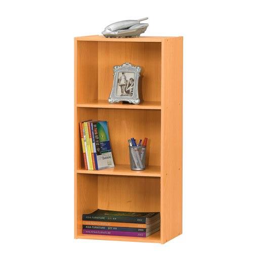 Beech Three-Shelf Utility Cabinet