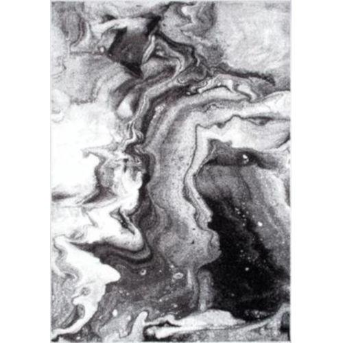 Remona Abstract Gray Rectangular: 9 Ft. x 12 Ft. Rug