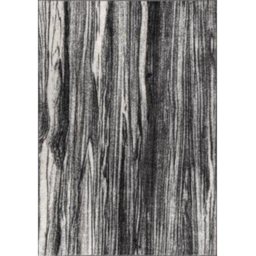 Maddie Abstract Black and White Rectangular: 7 Ft. 6 In. x 9 Ft. 6 In. Rug